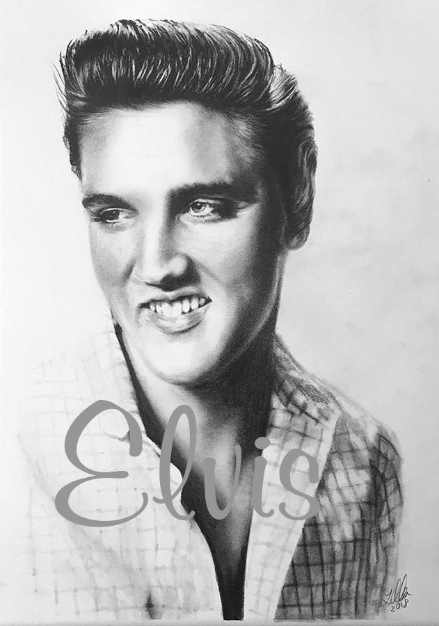 Elvis Presley by Alicja